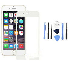 Front Outer Touch Screen Glass Lens Replacement Parts White+Tool For iPhone 6 S1