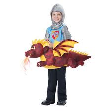 Boys Dragon Rider Medieval Costume size M/L 3T-6T