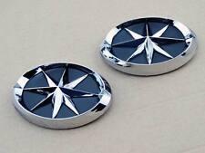 Set Gas Tank Fairing Badge Emblem Star Decals Sticker Chrome ABS 3D for Yamaha