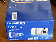 NEW Olympus D-595 5MP Digital Camera with 3x Optical Zoom - Silver D595
