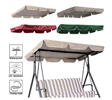 3/2 Seat Swing Top Cover Replacement Canopy Porch Park Patio Outdoor Seat