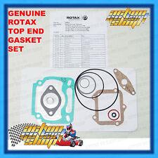 GO KART ROTAX MAX TOP END GASKET SET MICRO JUNIOR SENIOR EVO ENGINE SERVICE