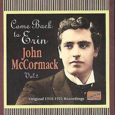 John McCormack - Come Back to Erin (Tenor Vocal) (CD 2004, Naxos Nostalgia) New