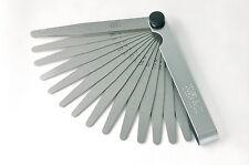 Präzisions - Fühlerlehre, Fühlerlehren 20 Blatt, 0,05 - 1,00 mm