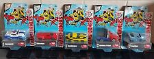 Dickie Toys Transformers Robots In Disguise Die Cast Vehicles Collection X5 -NEW