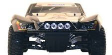SLASH Black Light Canister Set w/ Chrome Bumper & Skid RPM80982 & RPM80953