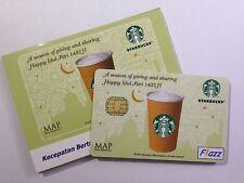Starbucks Indonesia Ramadan Idul Fitri Card 2010 with Sleeve Rare