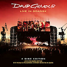 2 CD + 2 DVD Set Live In Gdansk David Gilmour Sealed !