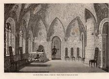 MOSCOU MOSCOW SALLE DU TEREM  RUSSIE RUSSIA IMAGE 1872 ENGRAVING