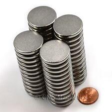 "Grade N50 Disc Neodymium Magnets Dia 1x1/8"" Rare Earth Magnets 6-Count"