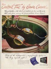 1946 Gruen Men & Women Watches Curvex PRINT AD