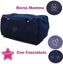 borsa mamma + BORSONE + FASCIATOIO BORSA Maternità NUOVA