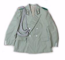 #e8148 Original Grenztruppen Uniform Jacke mit Paradeschnur von 1977 Größe: k48