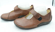 Wolky Designed for Walking Womens Sz 40 Leather Comfort Mary Janes Loafers Shoes
