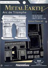Arc de Triomphe Paris Metal Earth 3D Model Kit MMS023 FASCINATIONS