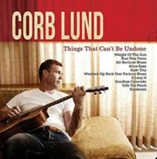 Corb Lund - Things That Can't Be Undone (CD, 2015, New West) no DVD