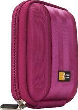 CASE Logic qpb-201 Custodia per fotocamera compact camera case in poliestere in rosa