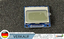 84x48 pixel blu LCD display modulo simile Nokia 5110 per Arduino Raspberry Pi