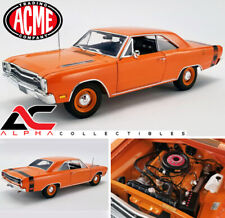 ACME A1806404 1:18 1969 DODGE DART GTS 440 - ORANGE HARD TOP
