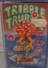 Tribble Trubble Spectrum 48k (Tape) (Game, Verpackung, Manual)