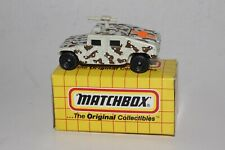MATCHBOX SUPERFAST #MB3 GM HUMMER MILITARY, MEDIC CROSS TAMPO, EXCELLENT, BOXED