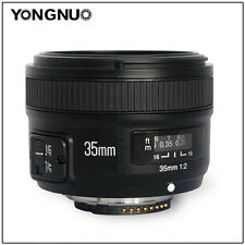 YONGNUO Wide-angle Fixed Auto lens YN35MM F2  For Nikon D7200 D7100 D7000 D80 90
