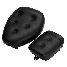 Motorcycle Front &Rear Seat Pad Cushion for Yamaha Virago XV250 1988-2013