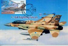 ISRAEL 2019 70th ANNIV. AIR FORCE F-16 FALCON ATM MAXIMUM CARD