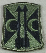 US Army 212th Field Artillery Brigade Subdued Merrowed Edge Patch