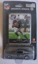 New NFL JaMarcus Russell Oakland Raiders Gridiron Greats Upper Deck Card & Car