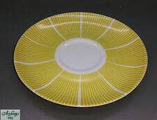 ARZBERG COFFEE SAUCER - Form 2000 – Decorative Stripes - Yellow - 15 cm