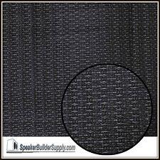 18in x 36in Black OEM guitar amp/speaker cabinet grill cloth