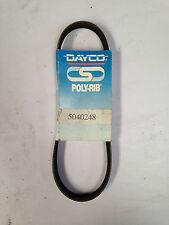 DAYCO POLY-RIB BELT 5040248 BUICK OLDSMOBILE PONTIAC 1.8L L4 1982-07