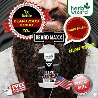 GINSENG FACIAL HAIR BEARD GROWTH HERBAL SERUM GROW MUSTACHE SIDEBURNS EYEBROW