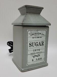 Scentsy Warmer A SPOONFUL Sugar 2018 Retired Wax Warmer
