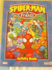 Marvel_Spider Man & Friends_album vuoto_empty_activity Book_del 2005_by newlinks