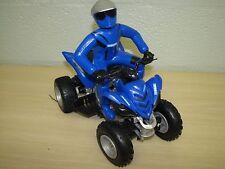 Blue Yamaha Raptor 700R 700 R R/C ATV 4 Wheeler with Rider NO Remote 2011