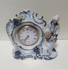 Antique Non-working Linden clock, genuine porcelain china, made in Japan