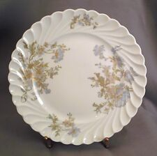 FOUR Haviland Margaux Salad Plates -  Blue/Gold Florals - Torse Blank