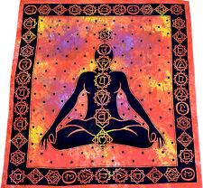 Tages-decke Chakra Wandbehang Bettüberwurf Dekotuch Tuch Hippie Kundalini Yoga