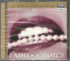 Ladies' Choice Various Stereoplay 24 Karat Gold CD Neu OVP Sealed OOP RAR