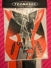 Ktm Tecnosel Graphics Decals Seat Cover Nos 1996-1999 Sx Exc 400 620 4 Stroke