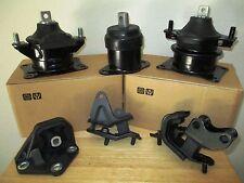 FOR: 2003-2007 HONDA ACCORD (2.4L, MANUAL) -- SET ENGINE & TRANSMISSION MOUNTS.