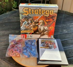 Stratego Fire vs. Ice Milton Bradley 2008 Board Game 100% Completed Used
