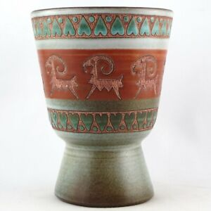 Vase RENÉ MAUREL Céramique VALLAURIS French Ceramic 50/60 capron/raty/blin...