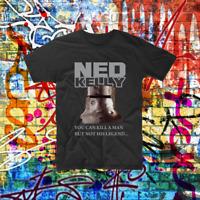 Ned Kelly Aussie Such is Life Custom Shirt Bogan Printed Tee Shirt
