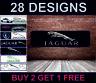 Jaguar Logo Nero Garage Officina PVC Adesivo Poster Show Camera Camera da Letto