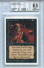 MTG Unlimited Demonic Tutor BGS 8.5 NM-MT+ card Magic the Gathering WOTC