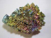 +++ Wismut Kristall // synthetisch +++ bismuth crystal Stufe Sammlung | Nr. 14