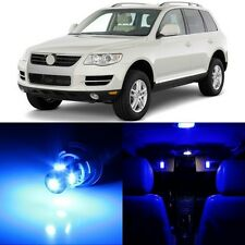 18 x Ultra Blue Interior LED Lights Package For 2004-2010 Volkswagen VW Touareg